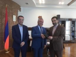 Expansion of banking ties between Tehran and Yerevan