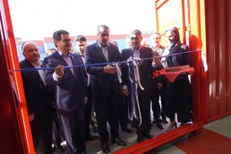Iran inaugurated the production line of sea containers